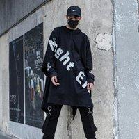 Herren Hoodies Sweatshirts Männliche Mode Casual Mit Kapuze Sweatshirt Mantel Bühne Kostüme Herren High Street Hip Hop Punk Hoodie Lose Tücher JAC
