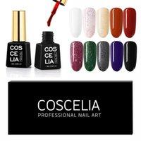 Kit per nail art kit Coscelli Advanced Gel Polish Set 6 / 10pcs per Varnish 8ml Kit Manicure