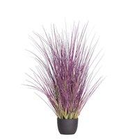60 cm erba di cipolla artificiale con pentola