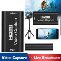 Gadgets 1080 P HD 4K Video Capture Device para USB 2.0 Dongle Game Record Live Streaming Broadcast1