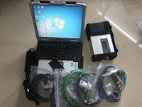스타 진단 MB SD 컴팩트 C5 노트북 Toughbook CF-30 터치 스크린 360도 회전 4G HDD 320GB1
