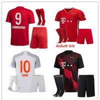 20 21 Bayern München Fußballtrikots SANE LEWANDOWSKI 2020/21 Bayern MULLER GNABRY PERISIC Fußballtrikot Herren + Kinder Trikot