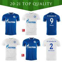 20 21 NUEVO FC Schalke 04 Soccer Jersey Bentaleb 2019 2020 Schalke Caligiuri Camisa de Fútbol Kutucu Burgstaller McKennie Fußball-Trikot