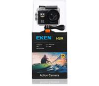 Original EKEN H9R 4K WIFI 1080P 2.0 LCD 170D Cámara de acción con control remoto Cámaras deportivas a prueba de agua DV