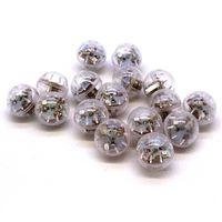 Bateria Mini LED Bola de Luz Brilhante Luz Balão Frequeiro Favor Favor Toy Venda Quente 0 32mw UU