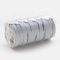 100шт / серия Оптовая OEM высокого качества 1м / 6ft алюминий Mylar кабель синхронизации данных USB зарядный кабель телефона с новым Упаковка