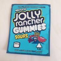 2021 Jolly Rancher Realable Çanta 600mg Çantalar Yeni Mylar Kitaplar Rancher Paketi Ekşi Jolly Gummies İlaçlı Hahtb