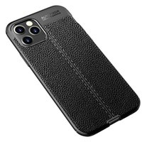 الأزياء الأعمال الهاتف القضية لمدة 12 فون برو ماكس إكسس XR الغلاف 8Plus آيفون 12 SE البسيطة جلدية الملمس حالة TPU رقيقة جدا