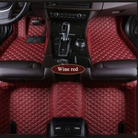 Tapis de sol personnalisés pour voiture Acura ZDX RDX MDX ILX RL TL TLX TLX-L 3D protection voiture de coiffure Tapis intérieur Tapis antidérapant Car Line