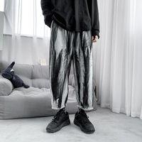 Pockets Tie Dye Loose Joggers Harem Pants Japanese Streetwear Men Hip Hop Harajuku Casual Fashion Baggy Pants Trousers Male Pant