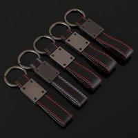 Voiture en cuir Métal 3D Keychain Porte-clés ANNEAUX voiture intérieur pour un udi / M / RS / R / S LINE E90 X1 X3