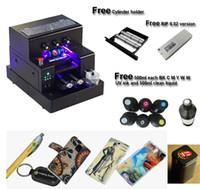A4 stampante UV automatica per la cassa del telefono, pallina da golf, PVC stampa bottiglia di carta