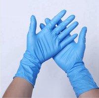 Guanti monouso guanti di nitrile guanto protettivo impermeabile anti-corrosione a secco copertura a mano guanto pulizia in accessies LJJP771