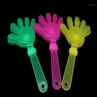 Geräuschemacher Jubelartikel Klatschen deine Hände Licht Musical Blinkende LED Blinzeln Spielzeug Party Zujubeln Zubehör Hand Clapper Weihnachten1