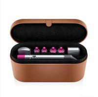 Dys Hildler Bigodino Multi-function Hair Styling Device Automatic Curling Iron 8 Head Gift Box più caldo 24 ore di spedizione veloce