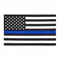 USA wiederverwendbare Flaggen 90x150cm Tragbare dünne blaue faltbare Banner Amerikanisches Tuch Fünf spitzes Sternflag heißer Verkauf 4 9YH G2