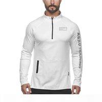 2020 asrv mens hoodie moletom desporto novo outono reflexivo reflexivo mangas compridas esportes ao ar livre executando fitness magro zíper hoodie