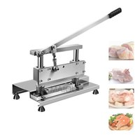 Household Meat Slicer Machine Meat Bone Cutting Machine Commercial Stainless Steel Chicken Duck Fish Lamb Chops Cutter