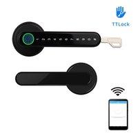 TTLock APP Smart WiFi remote control Fingerprint Lock biometrics password code Door Lock