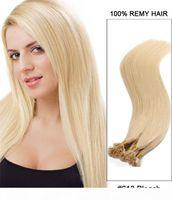 1GR 스트랜드 300st 로트 헤어 익스텐션에 이탈리아어 케라틴 플랫 팁 16 16 20 24 24inch Russion Human Hair Extensions, 무료 배송