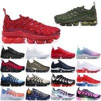 Venda quente TN Plus Sapatos Casuais para Homens Mulheres Velocidade Preta Vermelho Red Antracite Ultra Branco Preto 2019 Best Designer Sneakers BT1T