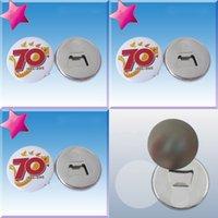 58mm sublimação abridor de garrafas em branco Circular transferência térmica de impressão Tanela Magnetic Emblema Acessórios Frete Grátis 0 9DC J2