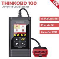 THINKOBD 100 OBD2 Tarayıcı Araba Teşhis Aracı OBD 2 OBDII Arıza Kodu Okuyucu Otomotiv Tarama Araçları Otomatik Smog Test Kontrol Motoru1