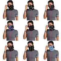 Designer Printed Mask Women Magic 14 Dust- Proof Ma#328#975 S...