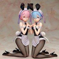 Regarder la vie à partir de zéro dans un autre monde RAM REM Dem Rem Bunny Figure PVC Figure Anime Sexy Fille Figure Modèle Toys Toys Doll Cadeau 30cm 1008