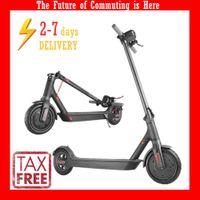 Steuerbezahlte EU / US 5 Tage Lieferung Mini-Folding-Elektroroller 8,5 Zoll starke Power-Fahrrad-Roller 7.8Ah 250W mit App-Pensionen MK083