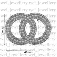 C Brief Designer Brosche Designer Schmuck Diamant Broschen Pin Quaste Frauen Brosche Mode Kleidung Dekoration