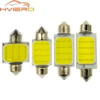 1 adet Beyaz 12 LED Dome Festoon Işık COB C5W C10W Lambası 31mm 36mm 39mm 42mm Araba Ampuller Okuma Işık Plaka Kapı Yedekleme Lambası