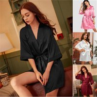 Female Spring Casual Home Clothes Sleepwear Womens Solid Col...