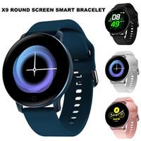 X9 Bracelet intelligent Fitness Tracker Montre intelligent de fréquence cardiaque Watchband intelligent Wristband pour Android Phone avec Retail Box
