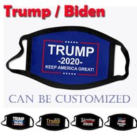 Designer Face Masks Donald Trump Biden 2020 President Election Adult Child Fashion Mouth Mask USA 3D printing