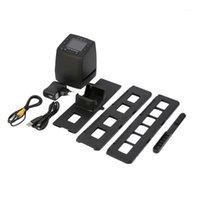 Scanner di film ad alta risoluzione Digital Convertes USB Negativi Slifts Photo Scan Scan Digital Digital Converter 2.4 pollici LCD1
