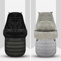 Sacs de couchage épais d'hiver Chaud Bébé SleeSack enveloppe pour la poussette à venteux nouveau-née