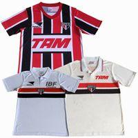 1991 1992 1993 1993 1994 Sao Paulo Retro Soccer Jersey 91 93 94 Home Away Classic Vintage Football Hemd S-2XL