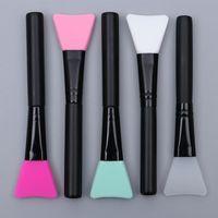 Мягкая силиконовая маска кисти для красоты Фонд DIY Mask Mush Mix Applator 5 цветов лица для ухода за кожей косметика для косметики кисти для макияжа
