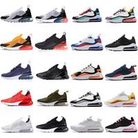 En kaliteli 270 erkek spor ayakkabı koşu ayakkabıları oreo yetiştirilmiş üniversite kırmızı yörünge zar zor gül eğitmenler açık runne kutusu ile