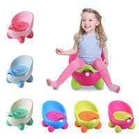 Baby Wear Potty Potable Poticie Infantil Bebé para niños Asiento de entrenamiento para niños Para Niños Carretera Pot Urinal Para Niños Dibujos Animados Lindo Pot