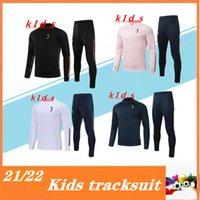 2020 2021 Детский костюм для трекового спорта Soccer Kit 2020/21 Chandal Mutbol Training Country Footbool Working Sports Jogging Surrey Куртка