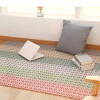 Cozinha antiderrapante tapetes de plástico Sala Varanda Casa de Banho Solid Color Tapetes Capacho Corredor Bath emenda Mat Tapete VT1863