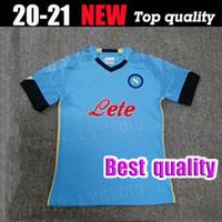 Thailand Qualität 2020 2021 Napoli Fußball-Trikots 2020 Neapel Zielinski Hamsik Insignente Merten Callejon Spieler Rog Football Hemden