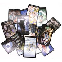 New Arrival 15 Styles Tarots Witch Rider Smith Waite Shadowscapes Wild Tarot Deck Board Game Cards with Colorful Box English Version FY4449