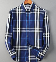Nigity 21 Frühlingsmode Mode Klassische Komfortable Casual Langarm Business Shirt Mann Formelles Hemd Plus Größe M-Size @@ 31
