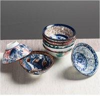 8 STÜCKE Keramik Getränkewaren Teuchte Chinesisch Kungfu Tee Set Teetasse Sake Becher 50ml Meisterschale Kleine Teeschüsseln De Sqcays
