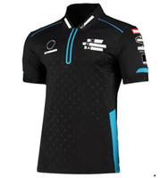 Formula 1 Off-Road Motosiklet Yeni Hızlı Teslim Dağ Bisiklet Polos-Gömlek Polyester Hızlı Kurutma Özelleştirilebilir