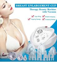 뜨거운 판매 진공 요법 기계 유방 컵 향상 엉덩이 장치 DHL UPS 무료 배송