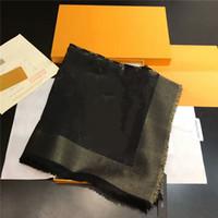 Trova Simile Sciarpa Quadrato Cashmere Blend Blend Man and Woman Designer Sciarpa Sciarpa Sciarpa Moda lungo anello del collo di alta qualità 140x140cm